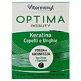 OPTIMA CAPELLI & UNGHIE KERATINA Vitarmonyl ● Integratore 30 perle ● Keratina di origine naturale ● Registrato Ministero Salute Italiano