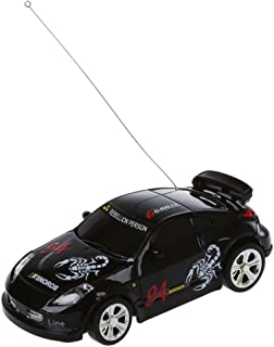 SODIAL Mini RC Remote Controlled Car Racing Car Toys in The Beverage can 1:58 (Black) New