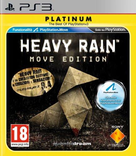 PS3 HEAVY RAIN: MOVE ED. PLATINUM ED.