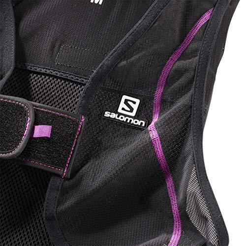 Salomon Unisex Flexcell Salomon Body Protection, Black/Purple, XS EU