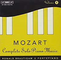 モーツァルト:ピアノ曲全集 Vol 9