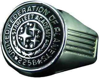 QMX Star Trek (2009 Movie) Starfleet Academy Class Ring Replica