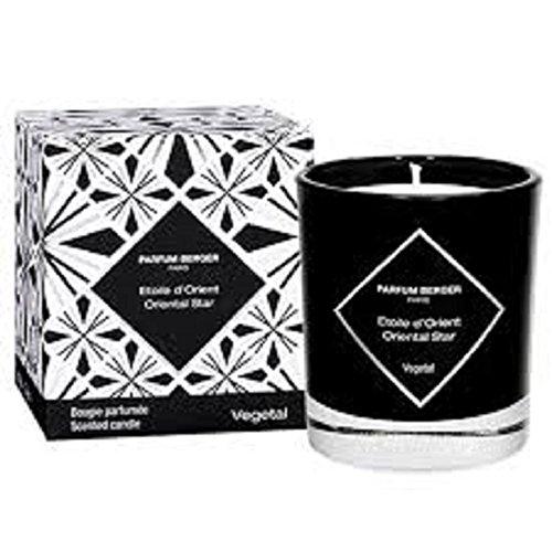 Lampe Berger Graphique étoile de l'Orient Bougie parfumée, Verre, Noir, 10 x 10 x 10 cm