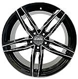 LIGHT BLD 1 Llanta de aleación modelo RS6 7,5J 17 5X112 ET37 66,5 para Audi A3 8V A4 Avant B8 A6 4F 4G A5 A7 Volkswagen Passat Italy
