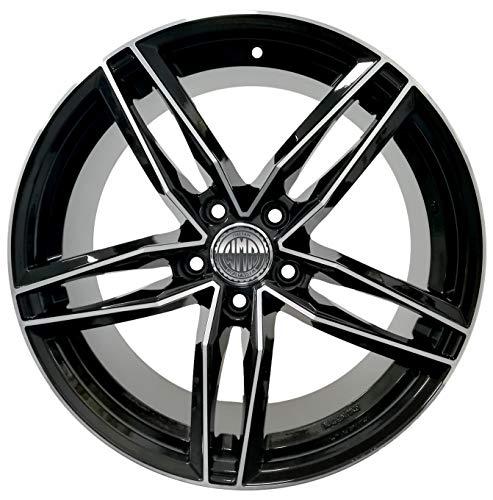 LIGHT BLD 1 Llanta de aleación 8J 18 5 x 112 ET35 66,5 para Audi A4 A6 A5 A7 Q3 Q5 Volkswagen Passat modelo RS6 Italy