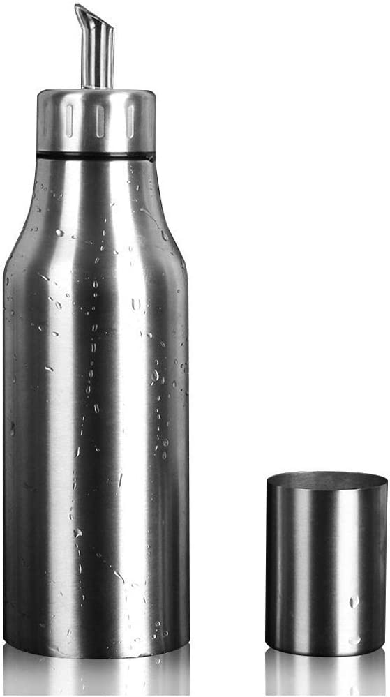 Olive Oil Dispenser - PERHOME 17 Leakproof Steel Special sale item Stainless Ranking TOP14 Oz Co