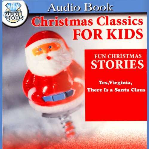Yes, Virginia, There is a Santa Claus audiobook cover art