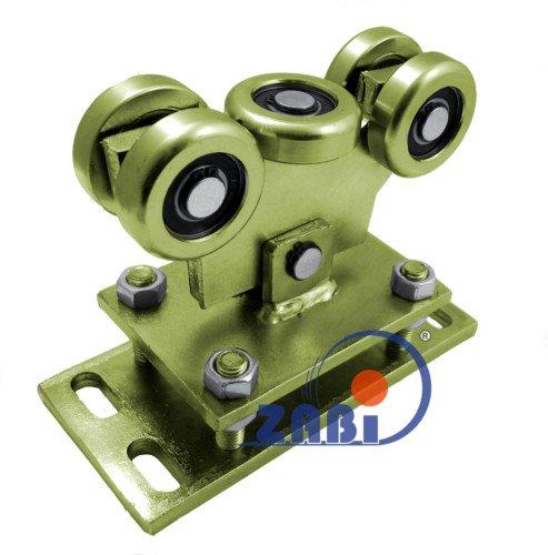 ZAB-S Laufwagen (Code:WR-5MM-60/4) Laufrolle Profilmaße:60x60x4 Gartentor Schiebetor Rolltor (WR-5MM-60/4)