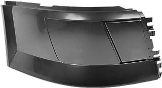 Side Bumper Right Passenger Side Without Trim Without Fog Light Hole Black Fit Volvo VNL 2004-2015