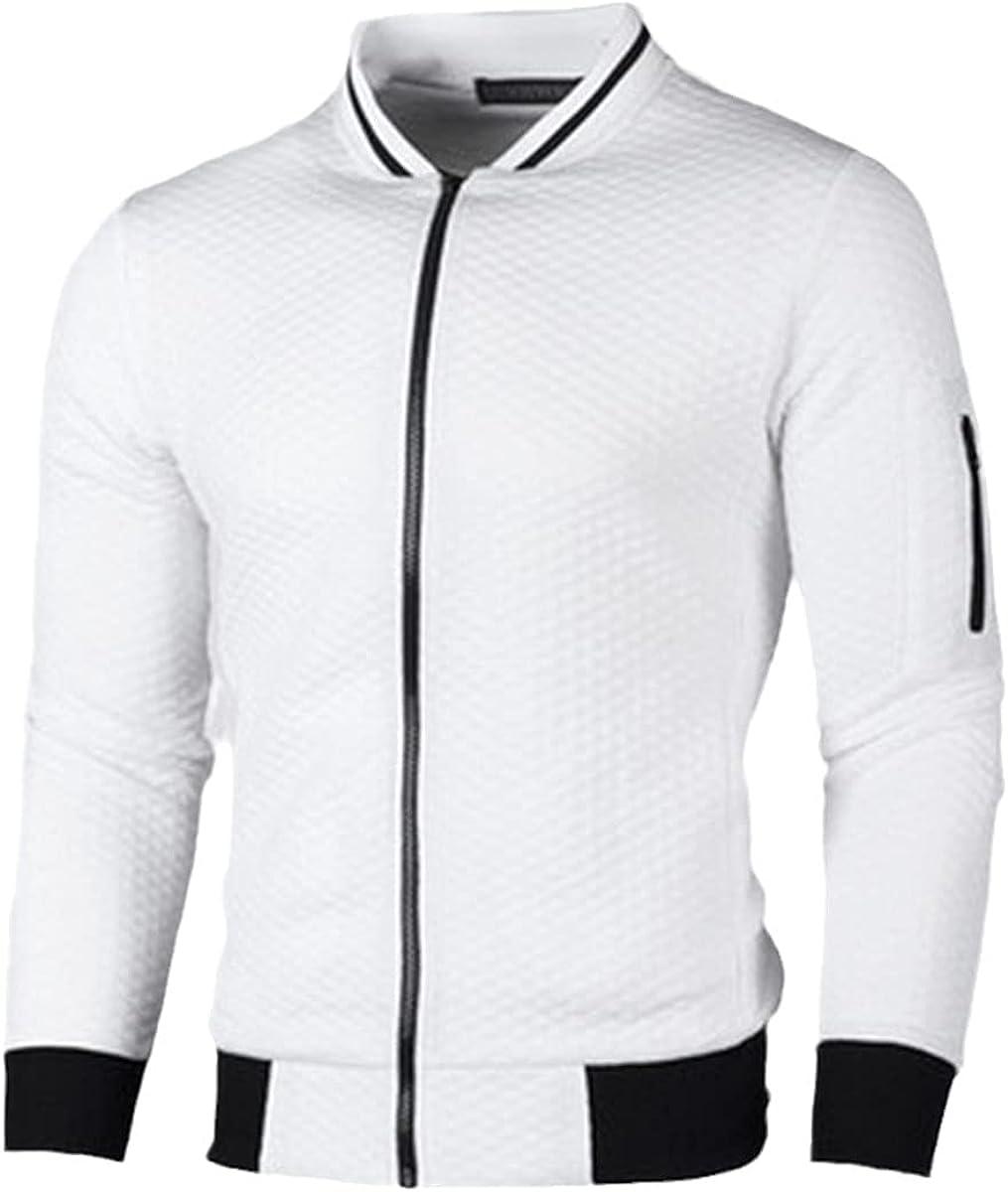 Autumn Men's Jacket Cotton Casual Solid Color Fashion Jacket Jacket Men