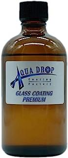 硬化系 AQUADROP GLASS COAT PREMIUM 100ml アクアドロップ プレミアム 5年持続被膜 硬化ガラスコーティング剤 複数台二度塗り対応 大容量