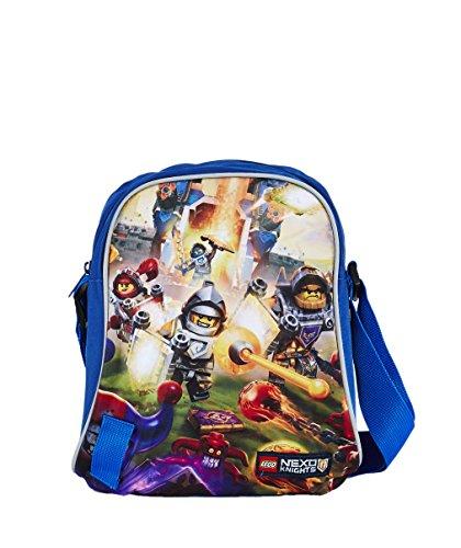 Lego Tablet Bag Vline Nexo Knights schoudertas, 27 cm, 2 liter, blauw