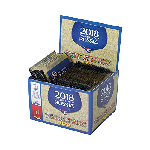 Panini FIFA World Cup 2018 Sticker Collection Packs (x100 Packs)