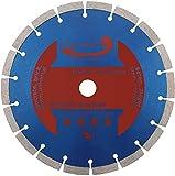 PRODIAMANT Diamant-Trennscheibe 230 x 22,2 mm 10mm Longlife Segment Beton, Stein, Ziegel, Diamantscheibe universal 230mm