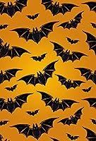 ハッピーハロウィンペットセット シャワーカーテン 装飾 かぼちゃ 写真 背景 X5915