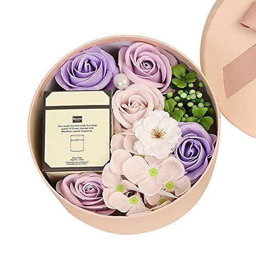 Juego de velas perfumadas, juego de regalo de vela de lujo para ella o regalo perfecto para mujer, innovador, perfecto regalo de aromaterapia, aromaterapia, baño, yoga