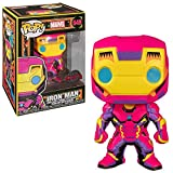 Funko- Pop Marvel Black Light Iron Man Juguete Coleccionable, Multicolor (48846)