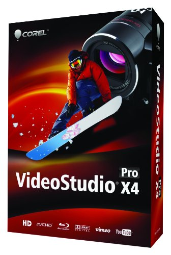 Corel VideoStudio Pro X4 (Mini Box)