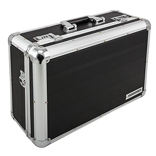 anndora Fotokoffer schwarz Kamerakoffer 21 Liter mit Tragegurt Zahlenschlösser
