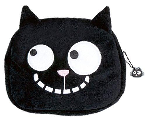 moses. Ed, The Cat Case, Kosmetiktäschchen im Katzen Design, Für Katzen-Liebhaber, 18 cm, Schwarz