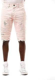 Smoke Rise Mens Basic Shorts Washed Pink