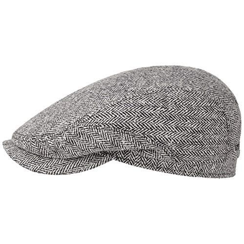 Stetson Belfast Silk Schuifmuts heren - Flatcap van zijde - Herencap Made in Germany - Zijdemuts voorjaar/zomer - Flat Cap