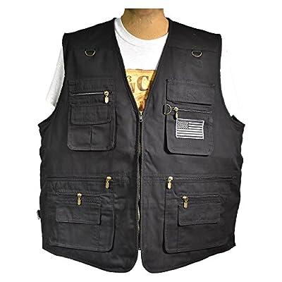 Nate's Leather Co. Concealment Vest  Concealed Carry Vest  Fishing Vest Travel Vest  Safari Vest  Hiking Vest  Outdoor Vest  Utility Work Sports Vest  Rock Climbing Vest  Utility Vest  Airsoft Vest 