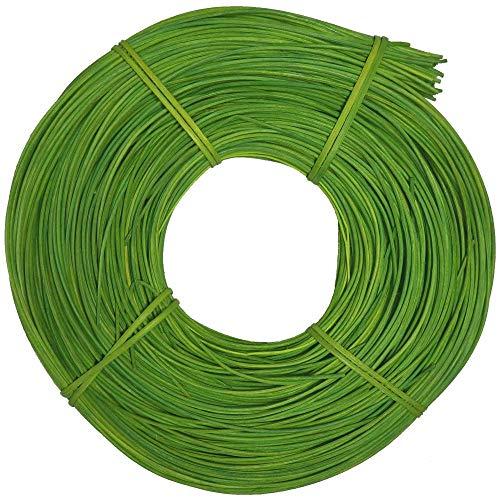 Peddigrohr intensiv gefärbt 3,0mm 500g Grün