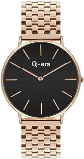 Q-era Rose Gold Steel Women's Watch - QV2804-11