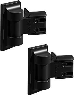 Boerboel Standard Wrap Gate Hinge 73014302 Black(2 Pack)