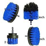 MALAT Power Scrubber Brush Set para brochas de baño, batería de repuesto Power Toilet Brush cepillo de limpieza eléctrico, 4 piezas