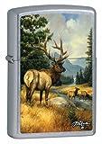 Zippo Lighter LP-Elk, Street Chrome 28008