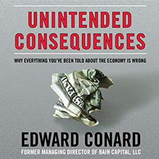 Unintended Consequences audiobook cover art