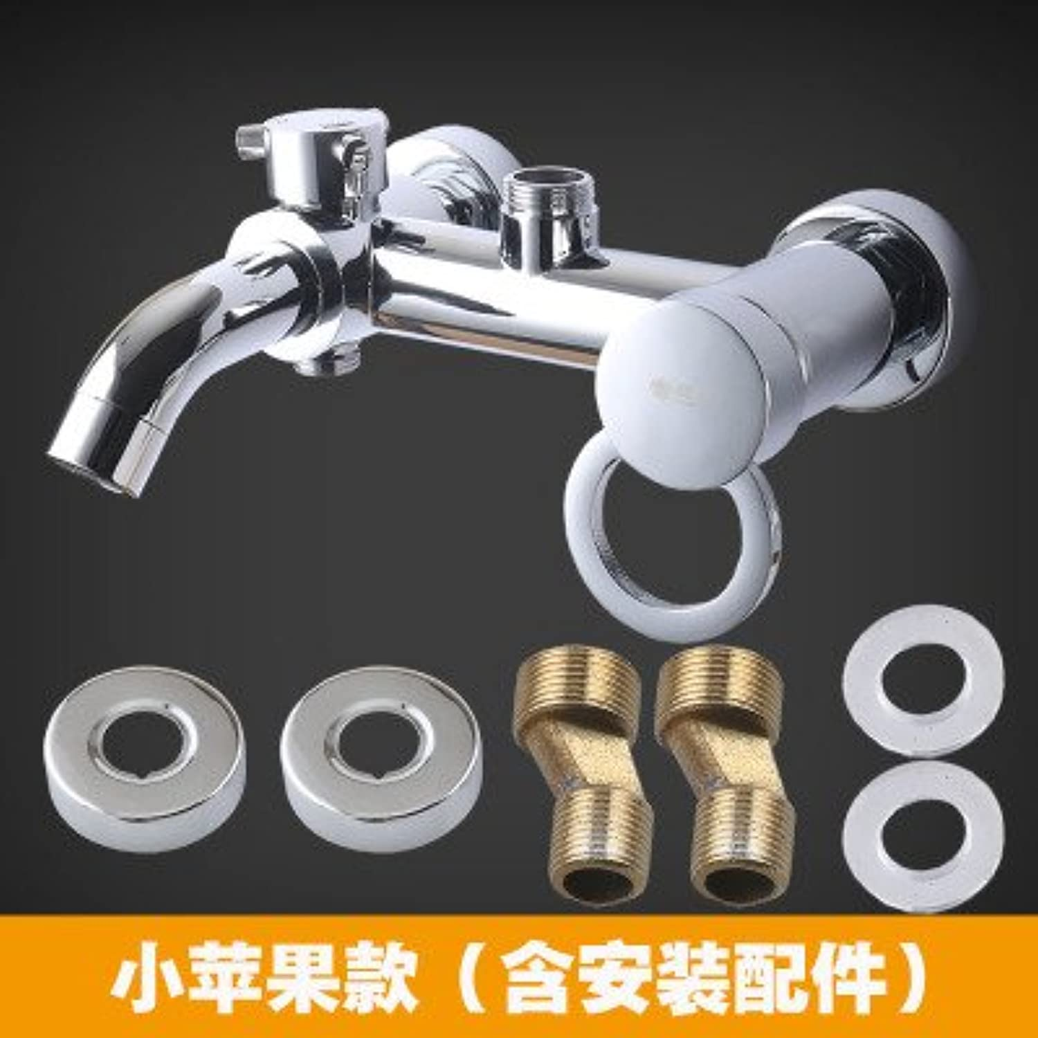 Gyps Faucet Sink Single Lever Mixer Tap Fitting for Bathroom Copper Adjustable into 3?Positions Shower Sink Water Mixing, Water with Water From The Little Apple Type.
