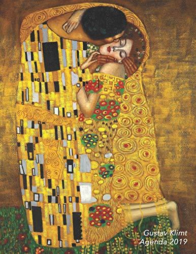 Gustav Klimt Agenda 2019: Semana Vista | El Beso | Jugendstil Organizador Día Página Español | 52 Semanas Enero a Diciembre 2019 (Agenda Organizador Planificador)