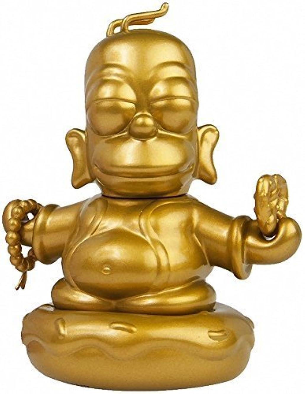 LootCrate September 2015 The Simpsons 3-Inch Golden Homer Buddha by KidRobot by Kidrobo