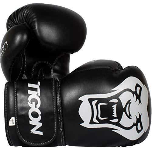 Tigon Tiger - Guantes de boxeo (12 onzas)
