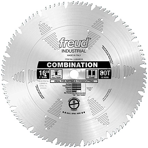 Freud 16' x 80T Combination Blade (LU84M016)