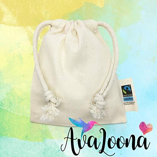 AvaLoona Menstruationstasse Doppelpack aus medizinischem Silikon mit Beutel (groß, Erdbeere, 2 Menstruationskappen) - 7