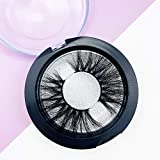 Mink Lashes MissWink MW Mink Eyelashes Fluffy High Volume Long 25mm Dramatic False Eyelashes Siberian 3D Effect Mink Lashes 100% Handmade Soft Thick Eyelashes 1 Pair (MW20)