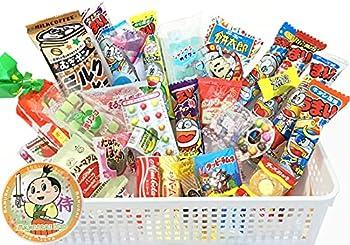 Samurai Dagashi Set Japanese Snack Assortment 30pc with Samurai Kid sticker