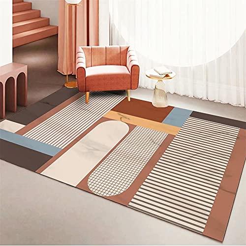 alfombras de Comedor marrón Alfombra de Sala de Estar Alfombra de salón...