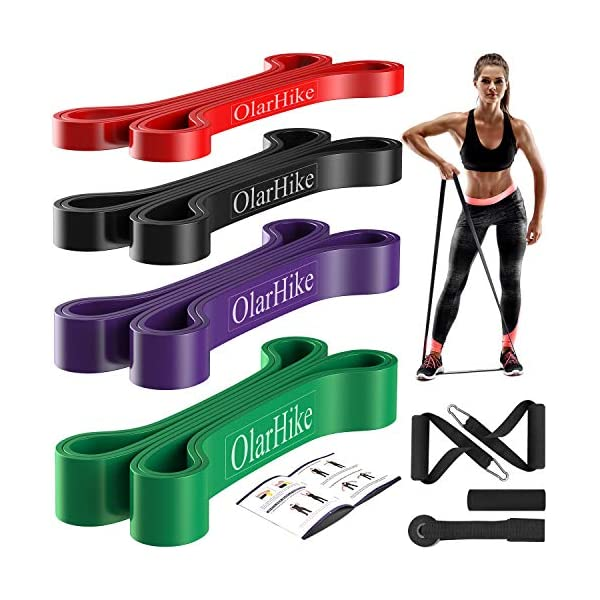 Resistance Bands, Pull Up Bands Set for Working Out, Exercise Bands and Workout Bands for Men & Women