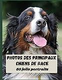 photos des principaux chiens de race: chiens de race de A à Z, livre de races de chiens, 50 photos couleurs numérotées , table des matières , papier ... cm, idée cadeau pour les amoureux des chiens