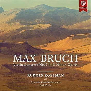 M. Bruch: Violin Concerto No. 2 in D Minor, Op. 44