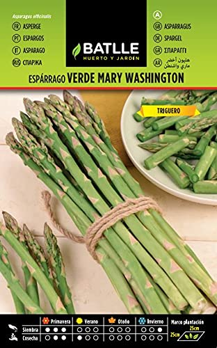 Battle - Semi Ortaggi Asparagi Verdi Mary Washington (120-180 Semi)