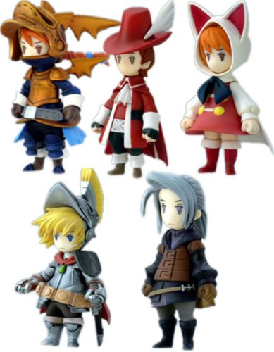 Abysses Corp-FINAL FANTASY III DS - Trading Arts mini (5 modeles)