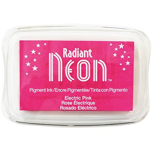 Preisvergleich Produktbild Strahlend Neon Elektrische Tinte Pad,  Pink