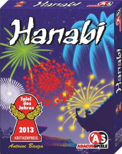 ABACUSSPIELE 08122 - Hanabi von Antoine Bauza, Spiel des Jahres 2013, Kartenspiel