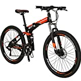 Best Foldable Bikes - Foldable Mountaine Bikes 27.5 Adult Men or Women Review